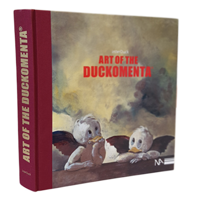 "Katalog ""Art of the Duckomenta"" zur Sonderausstellung ""Duckomenta"" von interDuck"