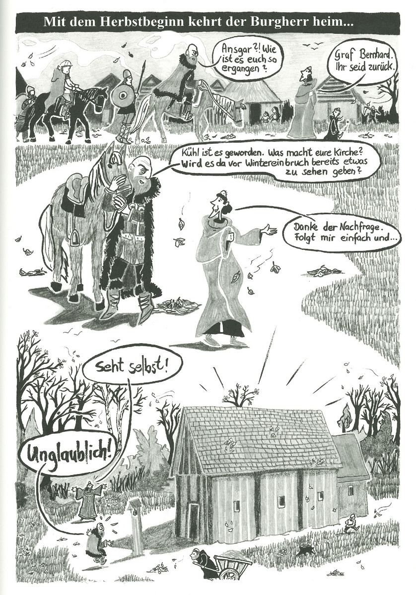 Beispielseite Hammaburg Graphic Novel